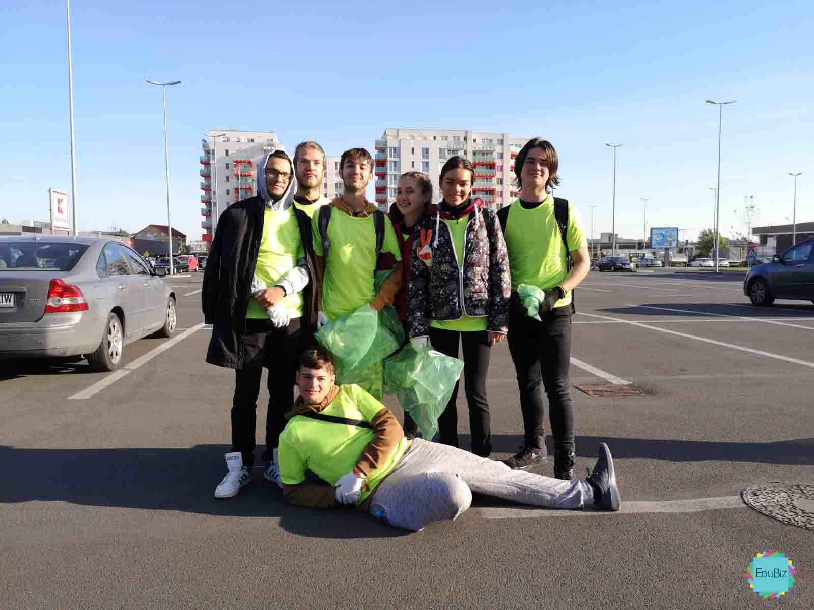 Let's do it România- experiența edubiștilor