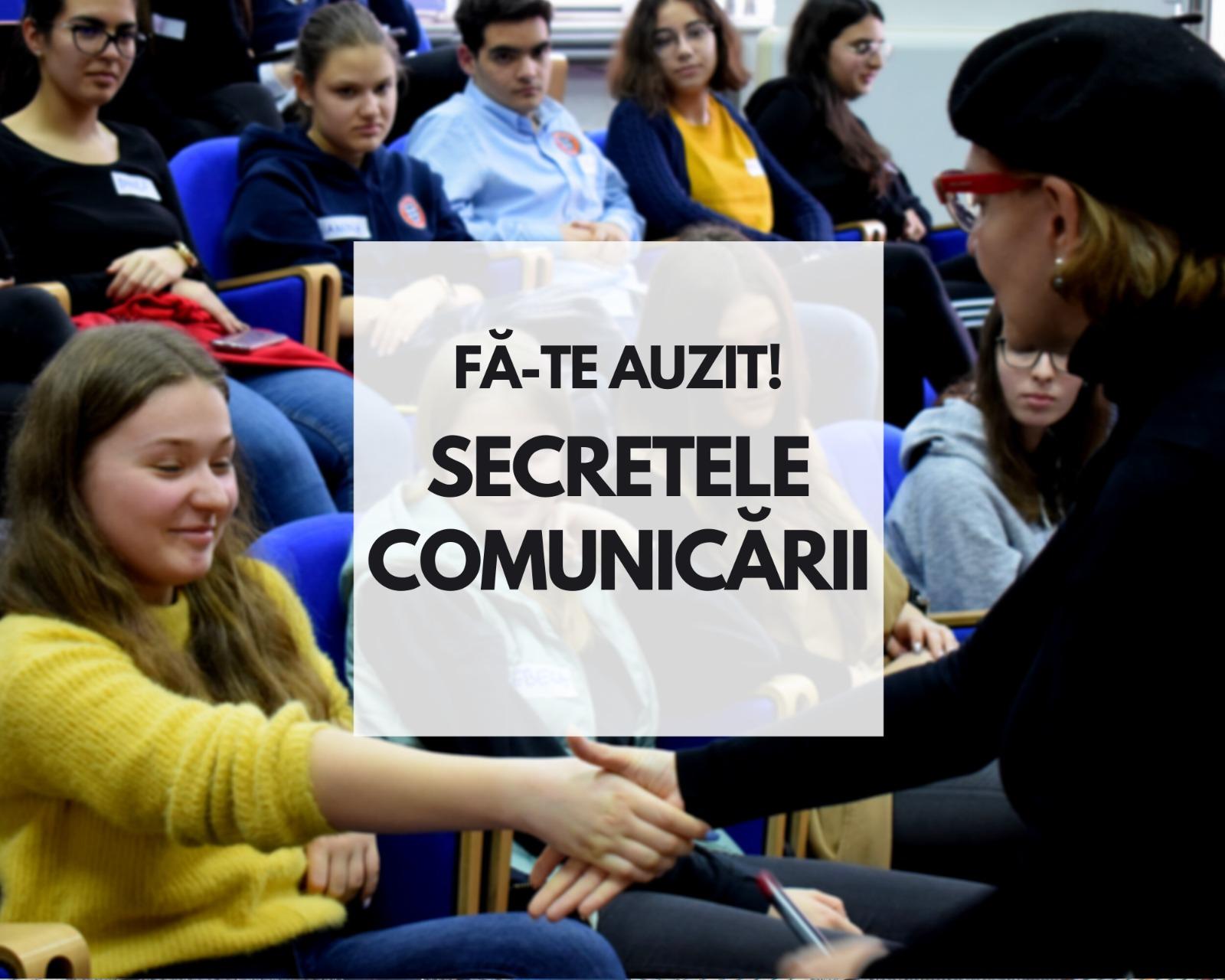 Fa-te auzit! Secretele comunicarii