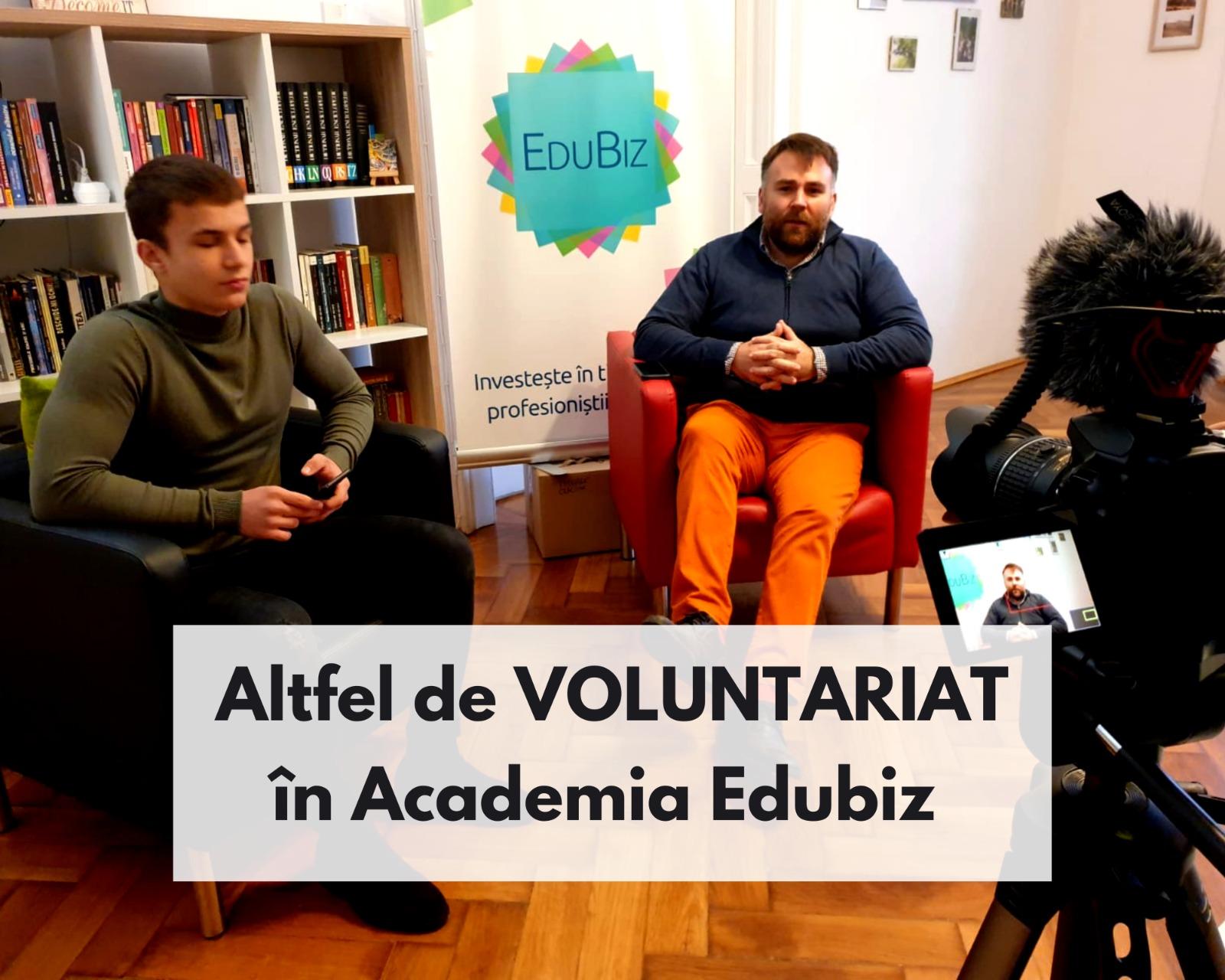 Altfel de Voluntariat în EduBiz
